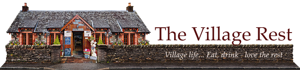 The Village Rest Free House and Logo